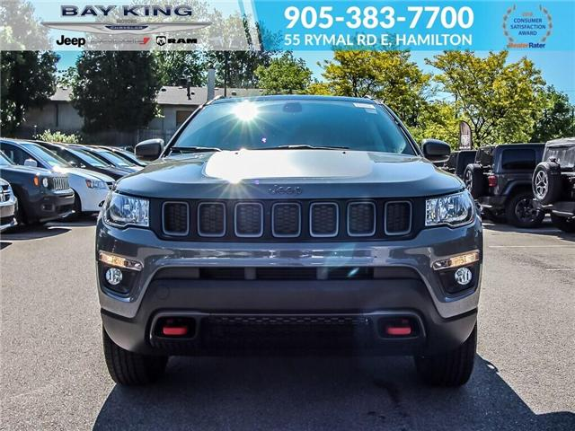2019 Jeep Compass Trailhawk (Stk: 197625) in Hamilton - Image 2 of 19