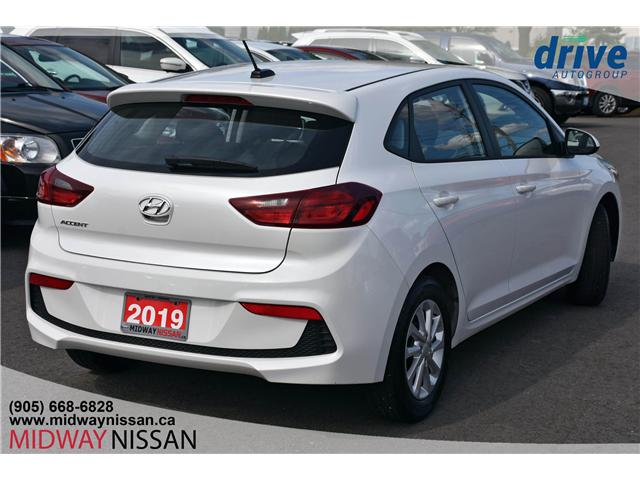 2019 Hyundai Accent Preferred (Stk: U1775R) in Whitby - Image 10 of 29