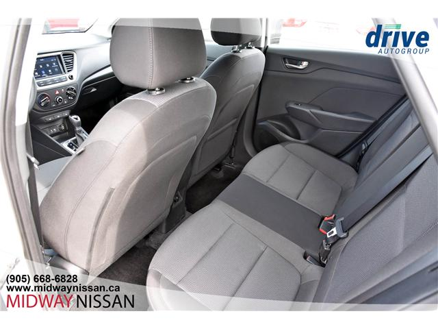 2019 Hyundai Accent Preferred (Stk: U1775R) in Whitby - Image 16 of 29