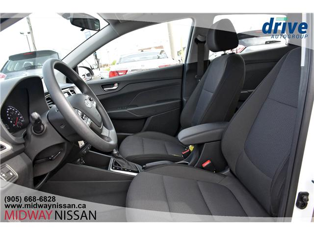 2019 Hyundai Accent Preferred (Stk: U1775R) in Whitby - Image 17 of 29