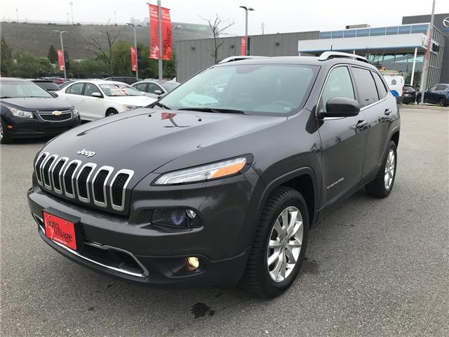 2017 Jeep Cherokee Limited (Stk: P561172) in Saint John - Image 1 of 41
