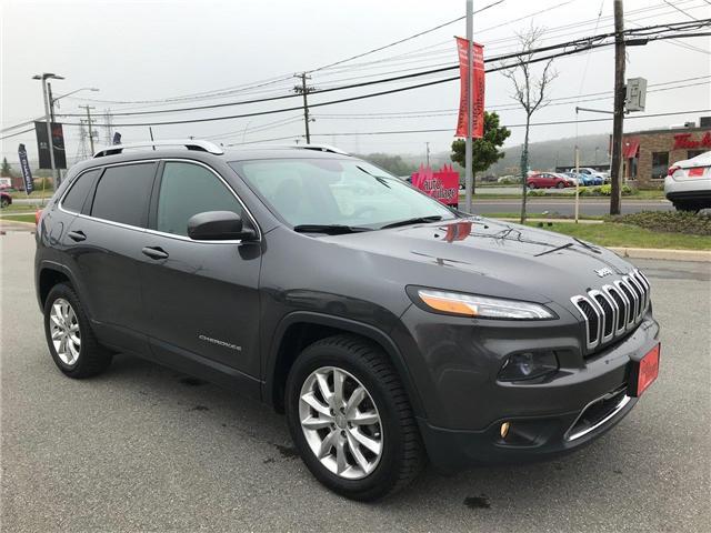 2017 Jeep Cherokee Limited (Stk: P561172) in Saint John - Image 9 of 41