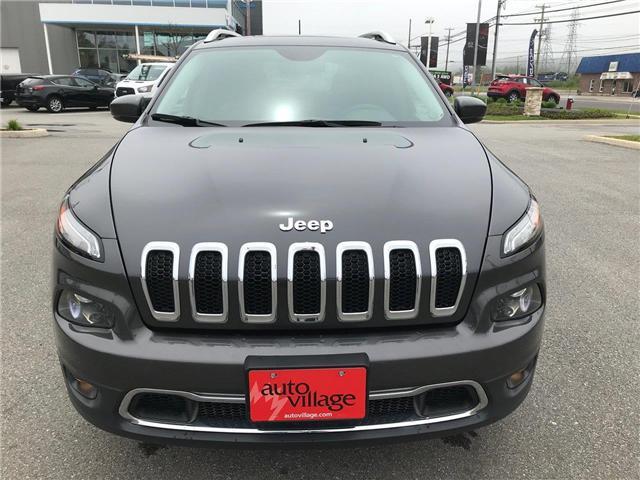 2017 Jeep Cherokee Limited (Stk: P561172) in Saint John - Image 10 of 41