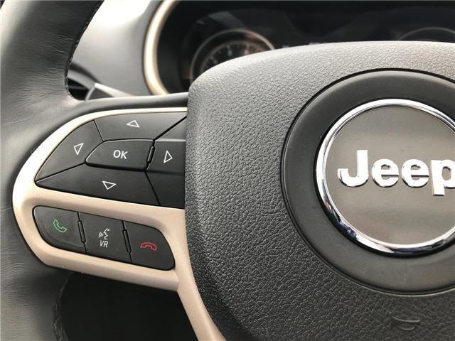 2017 Jeep Cherokee Limited (Stk: P561172) in Saint John - Image 20 of 41