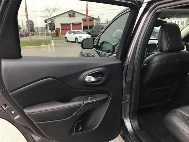 2017 Jeep Cherokee Limited (Stk: P561172) in Saint John - Image 35 of 41