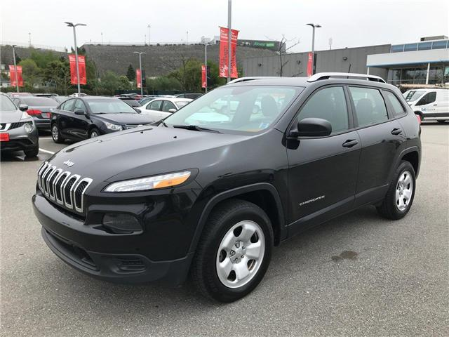 2016 Jeep Cherokee Sport (Stk: P315896) in Saint John - Image 1 of 38
