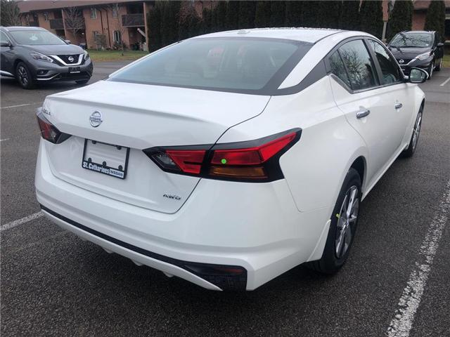 2019 Nissan Altima 2.5 S (Stk: AL19006) in St. Catharines - Image 4 of 5