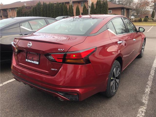 2019 Nissan Altima 2.5 SV (Stk: AL19010) in St. Catharines - Image 3 of 5