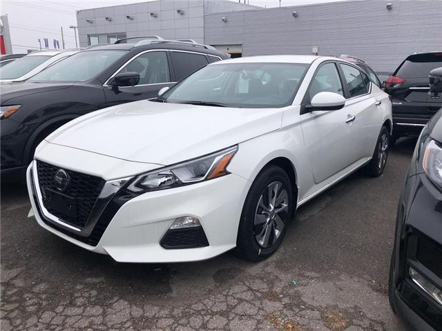 2019 Nissan Altima 2.5 S (Stk: KN312538) in Whitby - Image 1 of 4