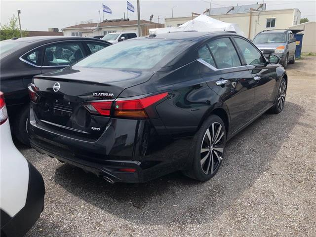 2019 Nissan Altima 2.5 Platinum (Stk: KN311004) in Whitby - Image 4 of 5