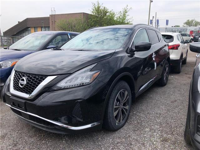2019 Nissan Murano SV (Stk: KN107810) in Whitby - Image 1 of 5