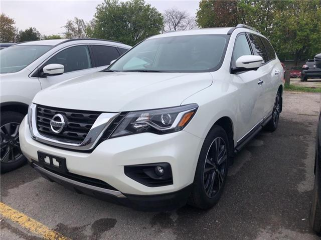 2019 Nissan Pathfinder Platinum (Stk: KC599824) in Whitby - Image 1 of 4