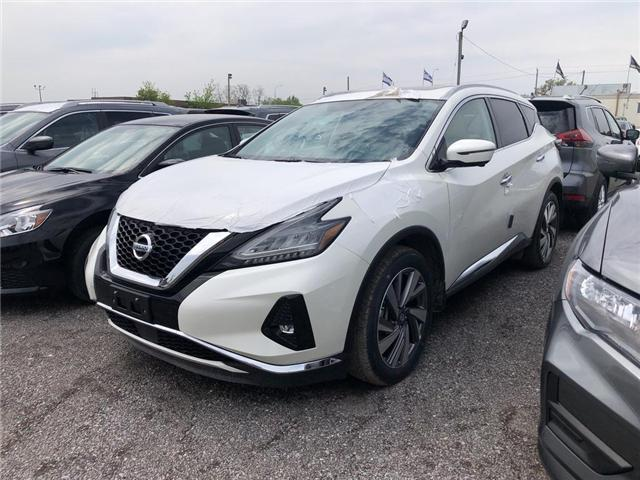 2019 Nissan Murano SL (Stk: KN121393) in Whitby - Image 1 of 4