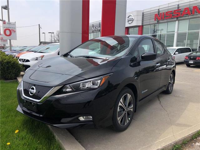 2019 Nissan LEAF  (Stk: KC314042) in Whitby - Image 1 of 5