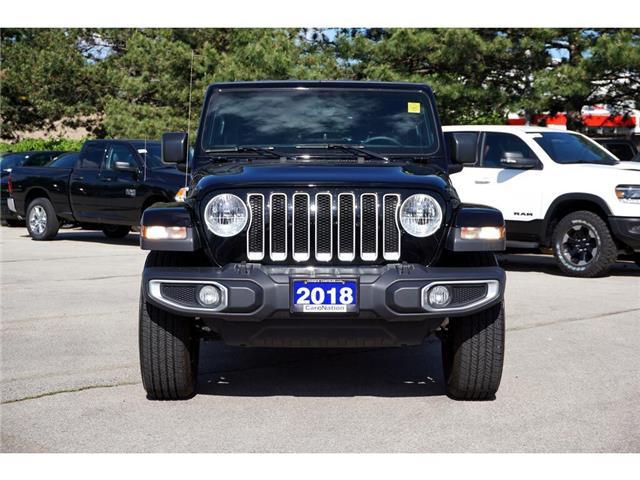 2018 Jeep Wrangler UNLIMITED SAHARA| NAV| ALPINE| REMOTE START (Stk: K734A) in Burlington - Image 2 of 50