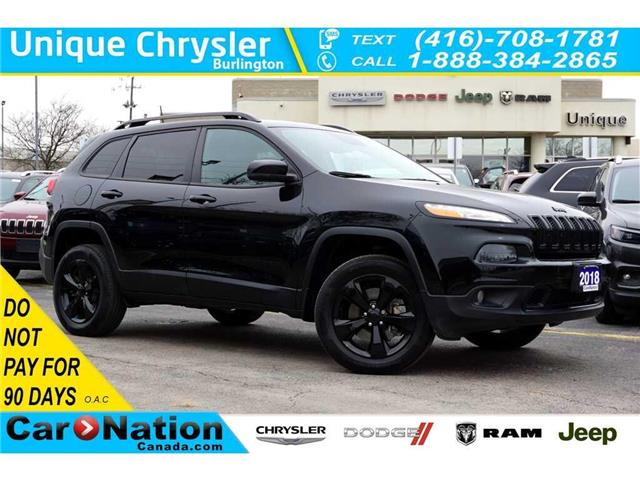 2018 Jeep Cherokee HIGH ALTITUDE| SAFETYTEC GRP| ACTIVE PARK ASSIST (Stk: K560C) in Burlington - Image 1 of 50