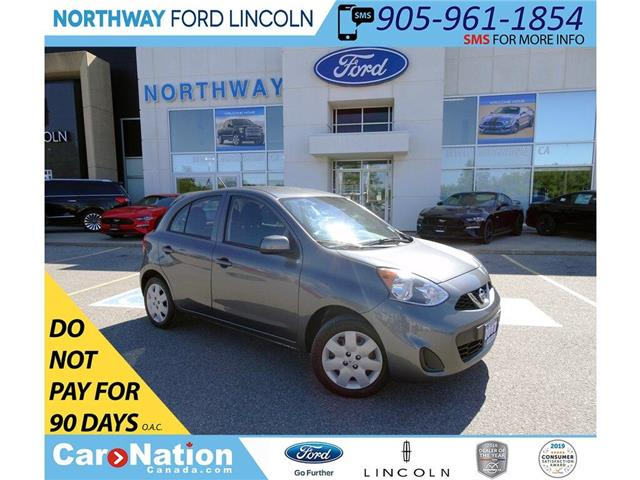 2017 Nissan Micra SV | KEYLESS ENTRY | CRUISE | BLUETOOTH+AUX | (Stk: DR248) in Brantford - Image 1 of 33