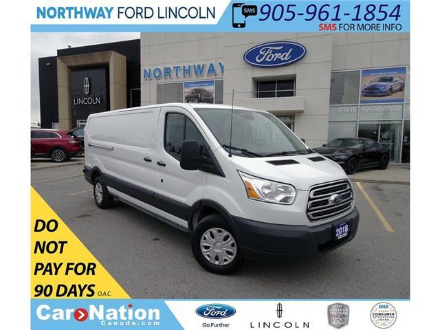 2018 Ford Transit 250 | CARGO | VINYL FLOOR | BACK UP CAM/SENSORS | (Stk: W3030) in Brantford - Image 1 of 35