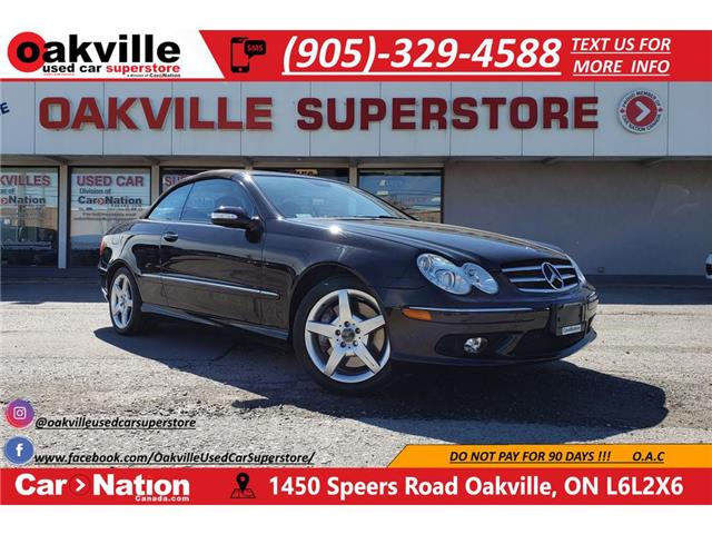 2005 Mercedes-Benz CLK-Class 500 | AMG PKG | CONVERTIBLE | VERY LOW KM (Stk: P12098A) in Oakville - Image 1 of 26