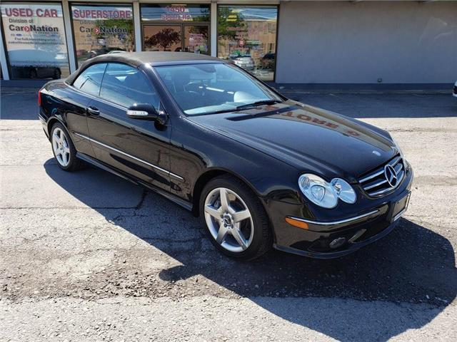 2005 Mercedes-Benz CLK-Class 500 | AMG PKG | CONVERTIBLE | VERY LOW KM (Stk: P12098A) in Oakville - Image 2 of 26