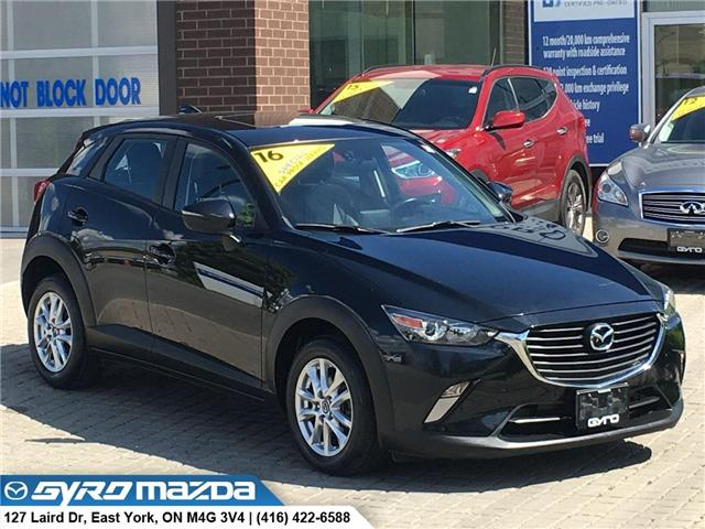2016 Mazda CX-3 GS (Stk: 28917) in East York - Image 1 of 30