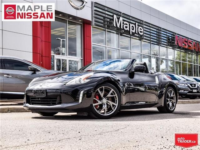 2014 Nissan 370Z Touring-Navi, Low Mileage,Soft Top,Clean Carfax! (Stk: M19K032A) in Maple - Image 1 of 30