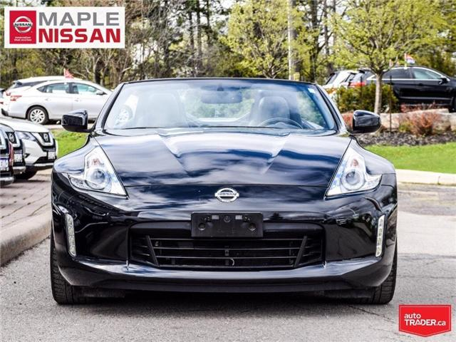 2014 Nissan 370Z Touring-Navi, Low Mileage,Soft Top,Clean Carfax! (Stk: M19K032A) in Maple - Image 2 of 30