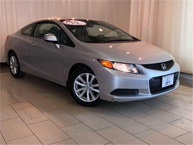 2012 Honda Civic EX-L | Leather | Sunroof | Alloys | Clean Carfax (Stk: 38856) in Toronto - Image 1 of 28