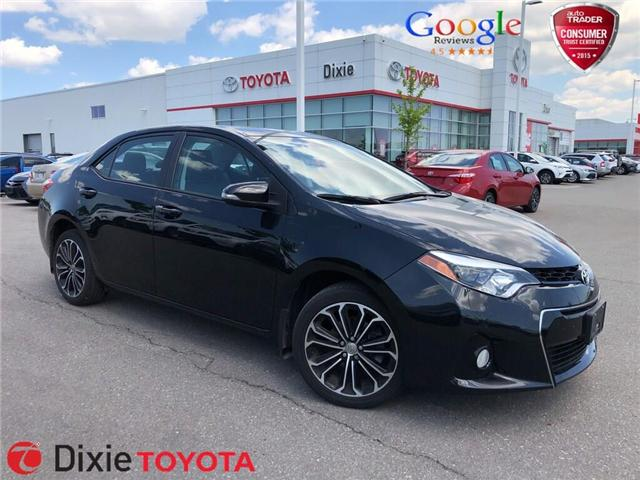 2016 Toyota Corolla S (Stk: D191565A) in Mississauga - Image 1 of 15
