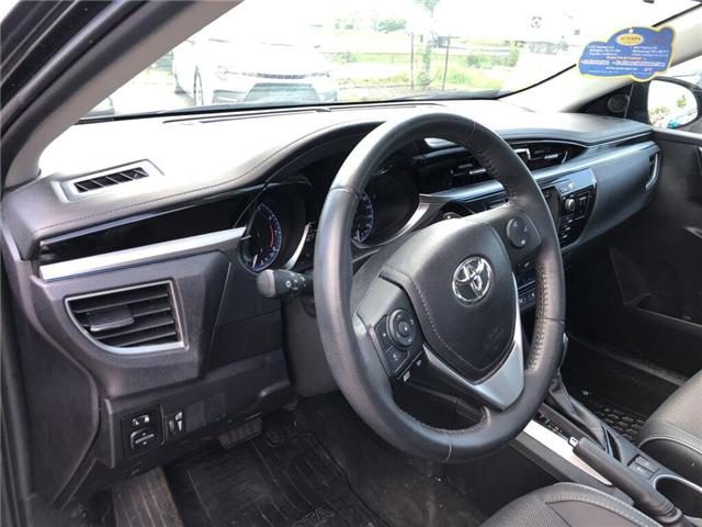 2016 Toyota Corolla S (Stk: D191565A) in Mississauga - Image 9 of 15