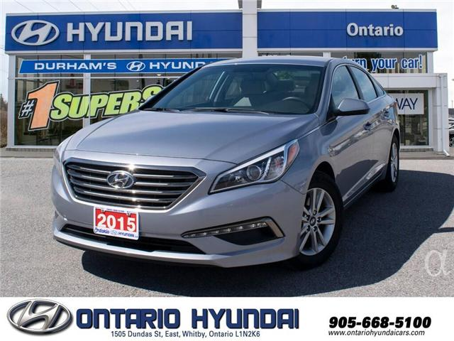 2015 Hyundai Sonata GL (Stk: 74245K) in Whitby - Image 1 of 19