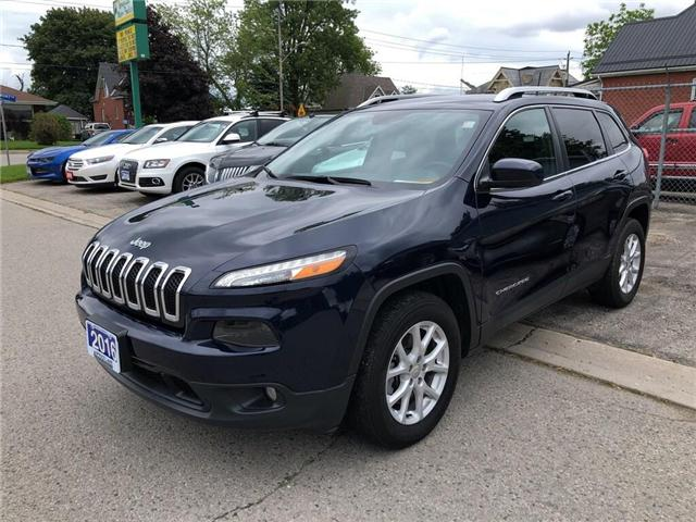 2016 Jeep Cherokee North (Stk: 66146) in Belmont - Image 1 of 19