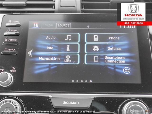 2019 Honda Civic LX (Stk: 19915) in Cambridge - Image 19 of 24
