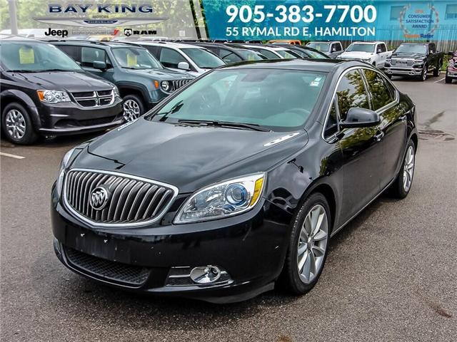 2017 Buick Verano Leather (Stk: 197228B) in Hamilton - Image 1 of 15