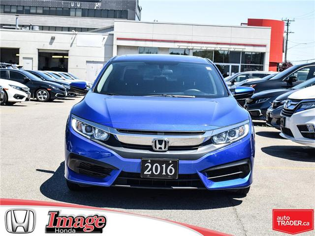 2016 Honda Civic EX (Stk: 9C554A) in Hamilton - Image 2 of 20