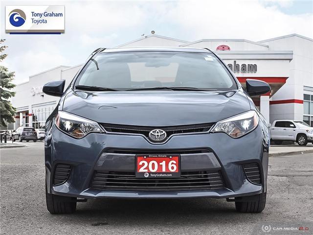 2016 Toyota Corolla  (Stk: U9119) in Ottawa - Image 2 of 28