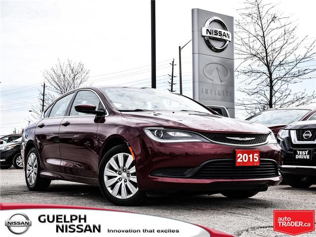 2015 Chrysler 200 LX (Stk: N19825A) in Guelph - Image 1 of 21