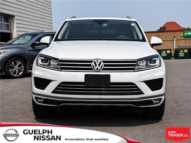 2016 Volkswagen Touareg  (Stk: UP13651) in Guelph - Image 2 of 26