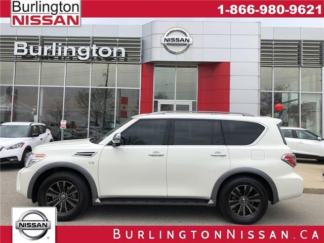 2018 Nissan Armada Platinum (Stk: A6692) in Burlington - Image 1 of 22