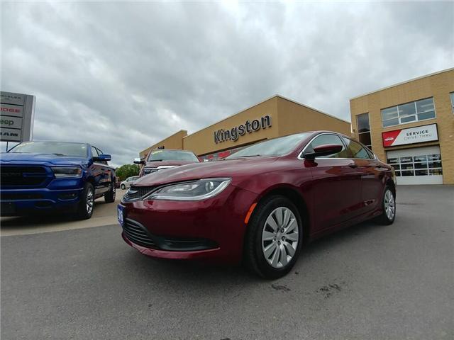 2016 Chrysler 200 LX (Stk: 18J083C) in Kingston - Image 1 of 21