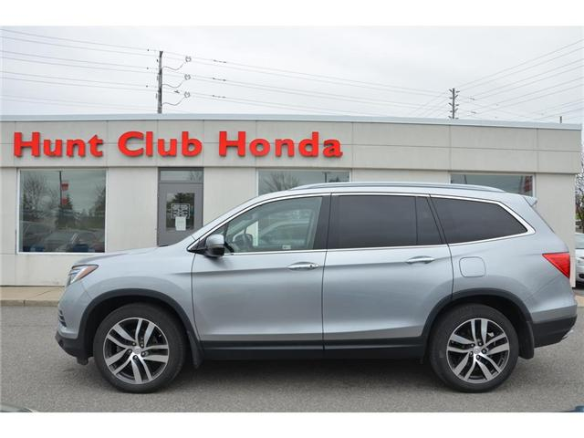 2017 Honda Pilot Touring (Stk: 7016A) in Gloucester - Image 1 of 30