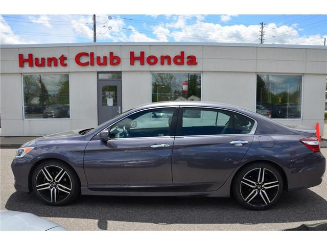 2016 Honda Accord Sport (Stk: 7138A) in Gloucester - Image 1 of 28