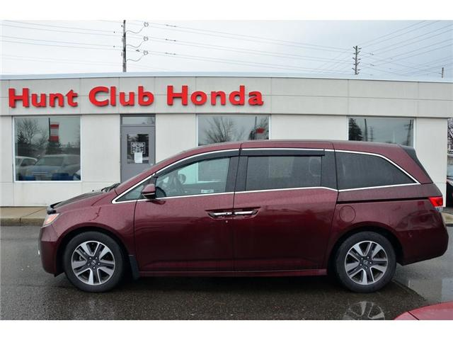 2016 Honda Odyssey Touring (Stk: 7102A) in Gloucester - Image 1 of 28
