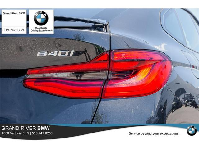 2018 BMW 640i xDrive Gran Turismo (Stk: PW4887) in Kitchener - Image 10 of 22