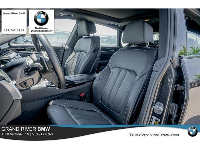 2018 BMW 640i xDrive Gran Turismo (Stk: PW4887) in Kitchener - Image 11 of 22