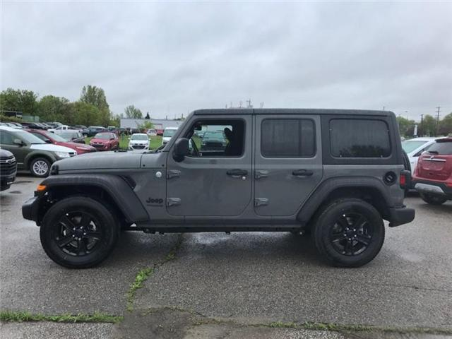 2019 Jeep Wrangler Unlimited Sport (Stk: W19001) in Newmarket - Image 2 of 21
