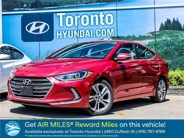 2017 Hyundai Elantra  (Stk: U06534) in Toronto - Image 1 of 23