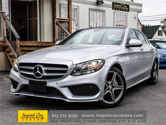 2015 Mercedes-Benz C-Class Base (Stk: 044669) in Ottawa - Image 1 of 28