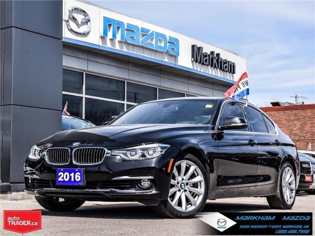 2016 BMW 328i xDrive (Stk: D190321A) in Markham - Image 1 of 30