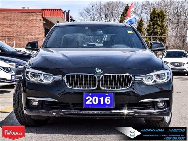 2016 BMW 328i xDrive (Stk: D190321A) in Markham - Image 2 of 30